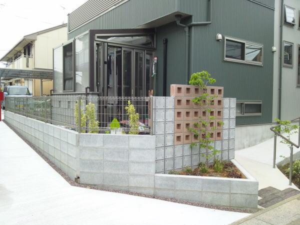 外構&ガーデンルーム工事完成